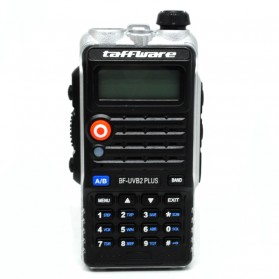 Taffware Walkie Talkie Dual Band 8W 128CH UHF+VHF - BF-UVB2 Plus - Black