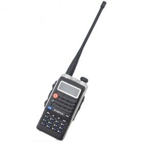Taffware Walkie Talkie Dual Band 8W 128CH UHF+VHF - BF-UVB2 Plus - Black - 2