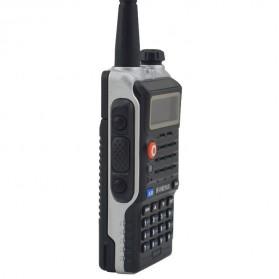 Taffware Walkie Talkie Dual Band 8W 128CH UHF+VHF - BF-UVB2 Plus - Black - 4