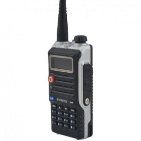Taffware Walkie Talkie Dual Band 8W 128CH UHF+VHF - BF-UVB2 Plus - Black - 5