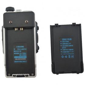 Taffware Walkie Talkie Dual Band 8W 128CH UHF+VHF - BF-UVB2 Plus - Black - 8