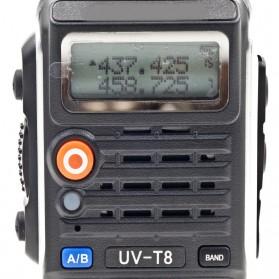 Taffware Walkie Talkie Dual Band 8W 128CH UHF+VHF - BF-UVB2 Plus - Black - 9