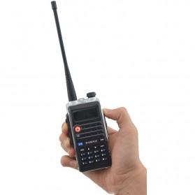 Taffware Walkie Talkie Dual Band 8W 128CH UHF+VHF - BF-UVB2 Plus - Black - 10