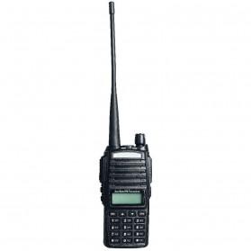 Taffware Walkie Talkie Dual Band 5W 128CH UHF+VHF - BF-UV82 - Black - 3