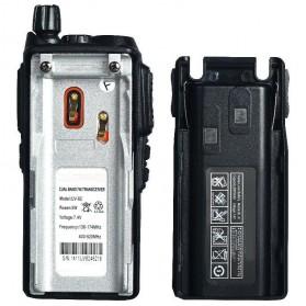 Taffware Walkie Talkie Dual Band 5W 128CH UHF+VHF - BF-UV82 - Black - 4