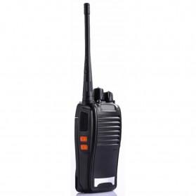 Pofung Taffware Walkie Talkie Single Band 5W 16CH UHF - BF-777S - Black