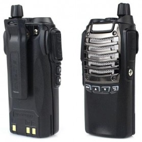Baofeng Walkie Talkie Single Band 8W 16CH UHF - BF-UV8D - Black