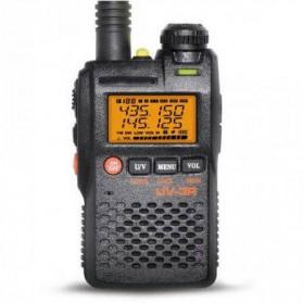 Pofung Taffware Walkie Talkie Dual Band 99CH 2W UHF+VHF - BF-UV3R - Black