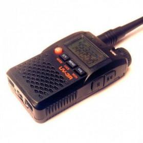 Taffware Walkie Talkie Dual Band 99CH 2W UHF+VHF - BF-UV3R - Black - 3