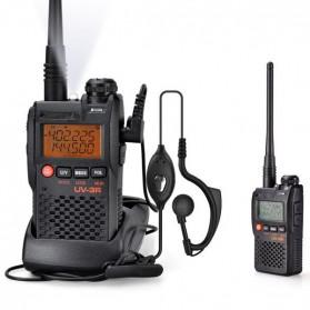 Taffware Walkie Talkie Dual Band 99CH 2W UHF+VHF - BF-UV3R - Black - 4