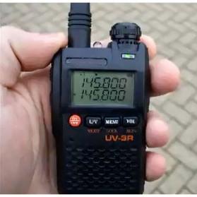 Taffware Walkie Talkie Dual Band 99CH 2W UHF+VHF - BF-UV3R - Black - 6