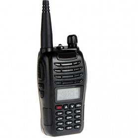 Taffware Walkie Talkie Dual Band Two Way Radio 5W 99CH UHF+VHF - UV-B6 - Black - 2