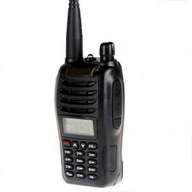 Taffware Walkie Talkie Dual Band Two Way Radio 5W 99CH UHF+VHF - UV-B6 - Black - 3