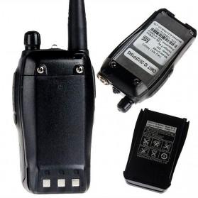 Taffware Walkie Talkie Dual Band Two Way Radio 5W 99CH UHF+VHF - UV-B6 - Black - 4
