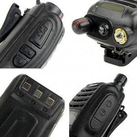 Taffware Walkie Talkie Dual Band Two Way Radio 5W 99CH UHF+VHF - UV-B6 - Black - 5