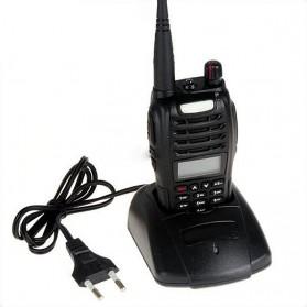 Taffware Walkie Talkie Dual Band Two Way Radio 5W 99CH UHF+VHF - UV-B6 - Black - 6