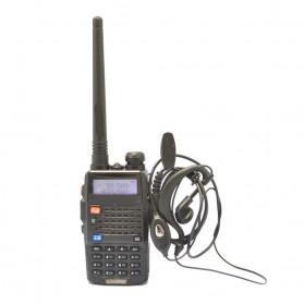 Taffware Walkie Talkie Dual Band Radio 5W 128CH UHF+VHF - UV-5RC - Black - 3