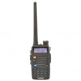 Taffware Walkie Talkie Dual Band Radio 5W 128CH UHF+VHF - UV-5RC - Black - 4