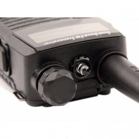 Taffware Walkie Talkie Dual Band Radio 5W 128CH UHF+VHF - UV-5RC - Black - 6