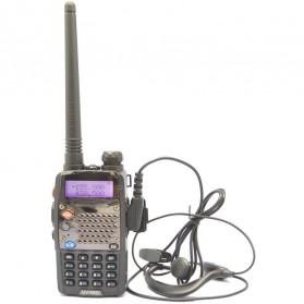 Taffware Walkie Talkie Dual Band Radio 5W 128CH UHF+VHF - UV-5RD - Black - 2
