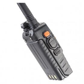 Taffware Walkie Talkie Dual Band Radio 5W 128CH UHF+VHF - UV-5RD - Black - 3