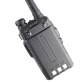 Taffware Walkie Talkie Dual Band Radio 5W 128CH UHF+VHF - UV-5RD - Black - 4