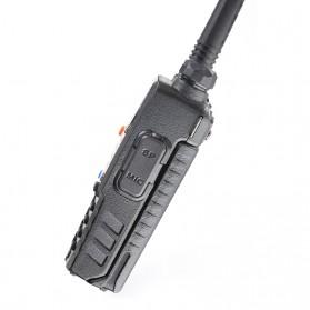 Taffware Walkie Talkie Dual Band Radio 5W 128CH UHF+VHF - UV-5RD - Black - 6
