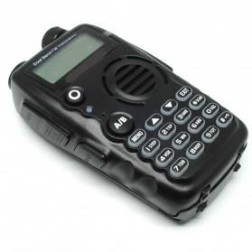 Taffware Walkie Talkie Dual Band Two Way Radio 5W 128CH FM - A52 - Black - 3