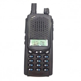 Taffware Walkie Talkie Dual Band 8W 128CH UHF+VHF - UV-B5 Plus - Black