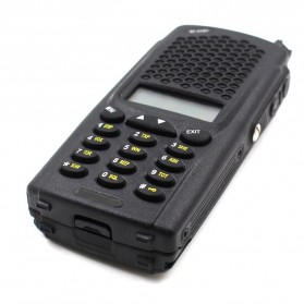 Taffware Walkie Talkie Dual Band 8W 128CH UHF+VHF - UV-B5 Plus - Black - 2