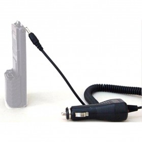 Taffware Walkie Talkie Car Charger Adapter Baterai 3800mAh for BF-UV5R - Black - 5
