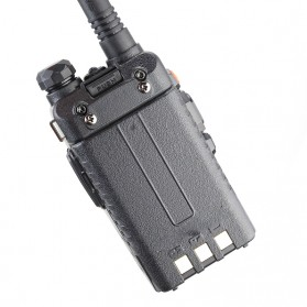 Taffware Walkie Talkie Dual Band Radio 5W 128CH UHF+VHF - UV-5RA - Black - 4