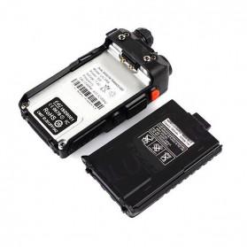 Taffware Walkie Talkie Dual Band Radio 5W 128CH UHF+VHF - BF-UV-5RB - Black - 7