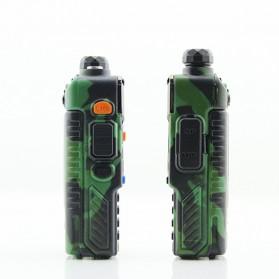 Taffware Walkie Talkie Dual Band 5W 128CH UHF+VHF - BF-UV-5RE - Camouflage - 2