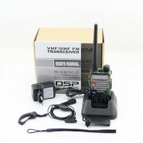 Taffware Walkie Talkie Dual Band 5W 128CH UHF+VHF - BF-UV-5RE - Camouflage - 3