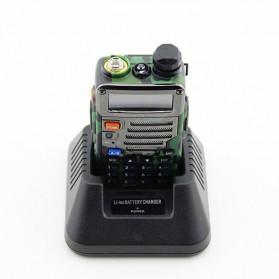Taffware Walkie Talkie Dual Band 5W 128CH UHF+VHF - BF-UV-5RE - Camouflage - 4