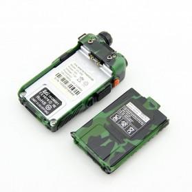Taffware Walkie Talkie Dual Band 5W 128CH UHF+VHF - BF-UV-5RE - Camouflage - 5