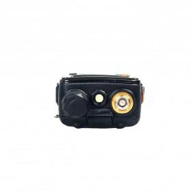 Taffware Walkie Talkie Dual Band 5W 128CH UHF+VHF - BF-UV-5RE Plus - Black - 3