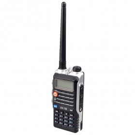 Taffware Walkie Talkie Dual Band Radio 8W 128CH UHF+VHF - UV-T8 - Black