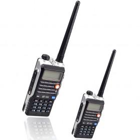 Taffware Walkie Talkie Dual Band Radio 8W 128CH UHF+VHF - UV-T8 - Black - 2