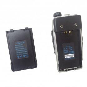 Taffware Walkie Talkie Dual Band Radio 8W 128CH UHF+VHF - UV-T8 - Black - 3