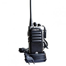 Neuni Walkie Talkie Single Band Two Way Radio 5W 16CH UHF - N15/KS315 - Black - 2