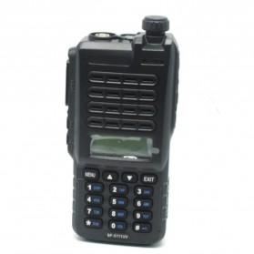 Taffware Walkie Talkie Dual Band 8W 128CH UHF+VHF - BF-5111UV - Black - 2