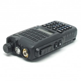 Taffware Walkie Talkie Dual Band 8W 128CH UHF+VHF - BF-5111UV - Black - 3