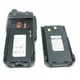 Taffware Walkie Talkie Dual Band 8W 128CH UHF+VHF - BF-5111UV - Black - 6