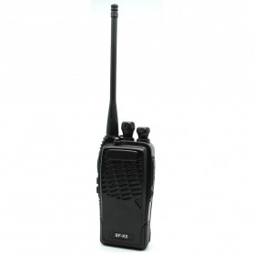 Taffware Walkie Talkie Single Band 5W 16CH UHF - BF-K5 - Black
