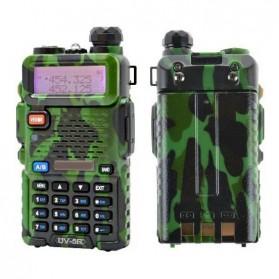 Taffware Walkie Talkie Dual Band 5W 128CH UHF+VHF - UV-5R - Camouflage