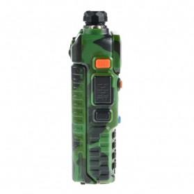 Taffware Walkie Talkie Dual Band 5W 128CH UHF+VHF - UV-5R - Camouflage - 2