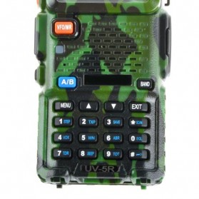 Taffware Walkie Talkie Dual Band 5W 128CH UHF+VHF - UV-5R - Camouflage - 3