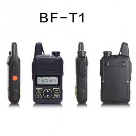 Taffware Walkie Talkie Single Band 1W 20CH UHF - BF-T1 - Black - 4